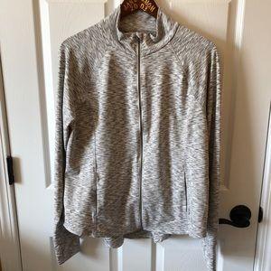 Fila Sport zip-up jacket with thumb holes size XL